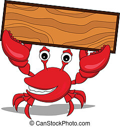 a funny cartoon crabs