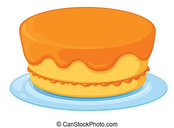 a, gâteau