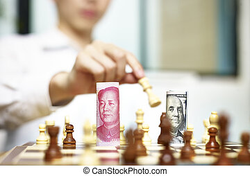 a game between CNY and USD - U.S. Dollar (USD) and Chinese ...
