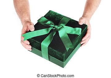 a, geschenk, für, sie