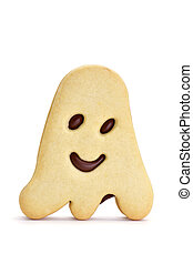 ghost-shaped cookie