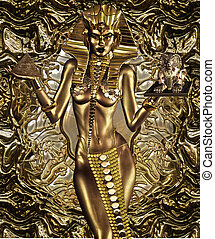 A Gift For Civilization - This Egyptian Goddess balances the...