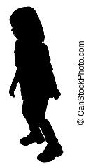 a girl body silhouette