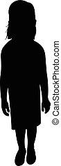 a girl body silhouette