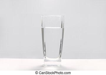 a, glas vatten
