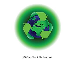 A global warming illustration