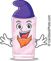 A gorgeous cartoon design of perfume as an Elf fairytale character