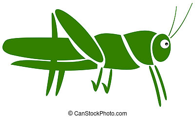 a grasshopper pictogram