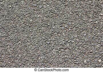 gray gravel texture for background, macadam, asphalt