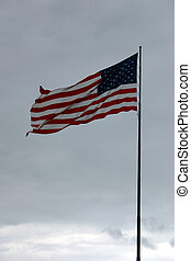 Old Glory - A great picture of Old Glory flying proudly over...