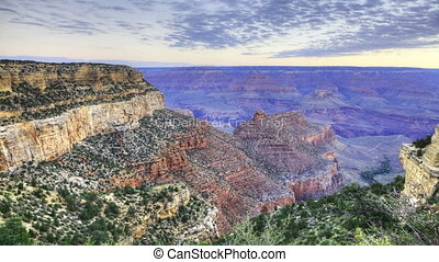 A Great sunrise at the Grand Canyon