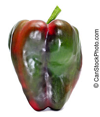 green and red pepper