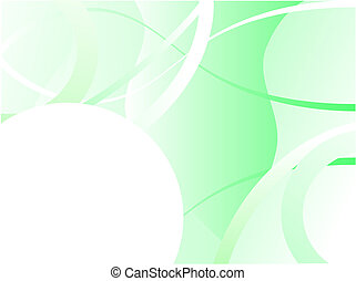 A green business card, brochure cover or presentation vector background