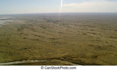 A green desert place