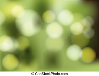 A green gradient background