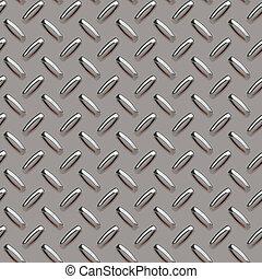 grey diamond plate - A grey diamond plate texture that can...