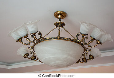 Kronleuchter Weiss Gross ~ Kronleuchter gross la vintage chandelier kronleuchter gross