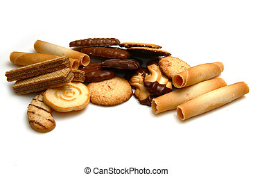 a group of biscuit
