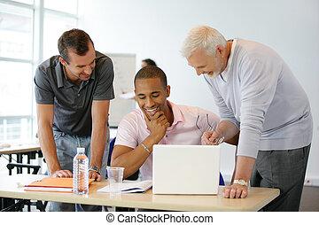 A group of entrepreneurs