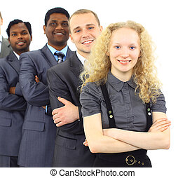 A group of international businessm