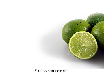A Group of Limes Right Aligned