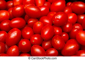 Group of Red Tomato Texture