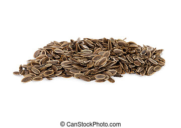 a group of sunflower seeds