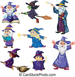 A group of wizards