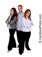 Group - A Group Of Young Attractive Business People