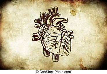 A Grunge Heart