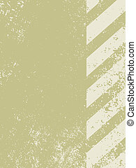 A grungy and worn hazard stripes texture. EPS 8 vector file...