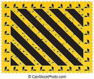 hazard stripes texture