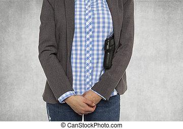 A gun in the business world