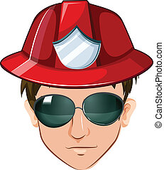 A head of a fire marshall