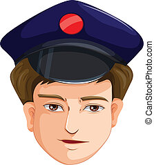 A head of a police agent