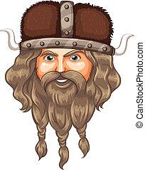 A head of viking