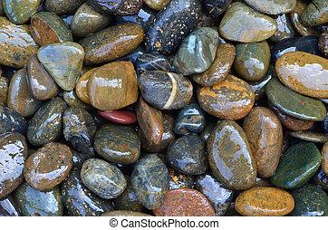 Wet Pebble Stone
