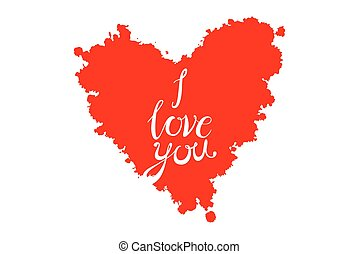 """A heart made of """"I love you"""" phrase in many languages"""