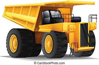 A heavy hauler - Illustration of a heavy hauler