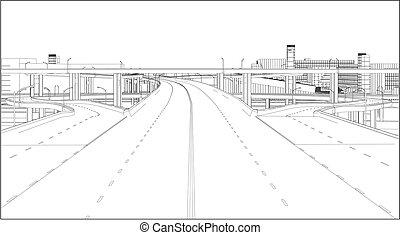 A Highway Interchange Vector