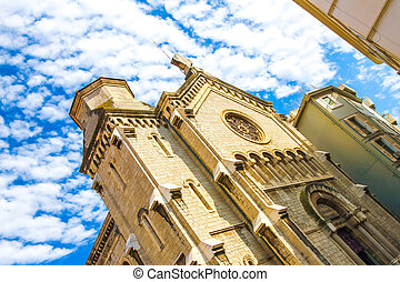 A historic church in Cannes, France