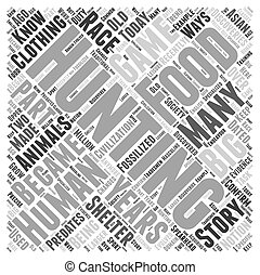 a history of hunting dlvy nicheblowercom Word Cloud Concept