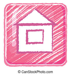 A home button icon drawing