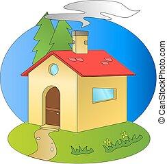 A home - A family home design