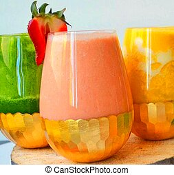 A Homemade Food Super food Smoothies
