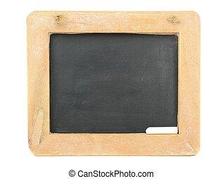 A horizontal Chalkboard