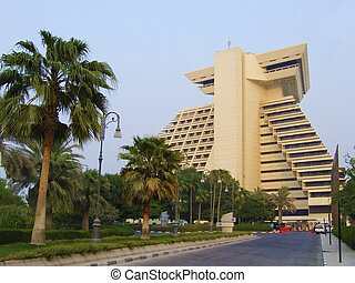 A hotel in Doha - Sheraton is the first hotel in Doha