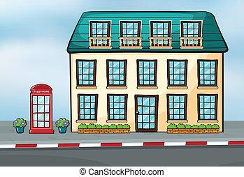 A house and a callbox