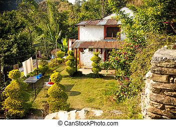 A house of Nepali village