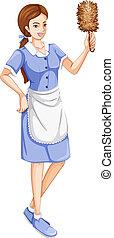 A house servant